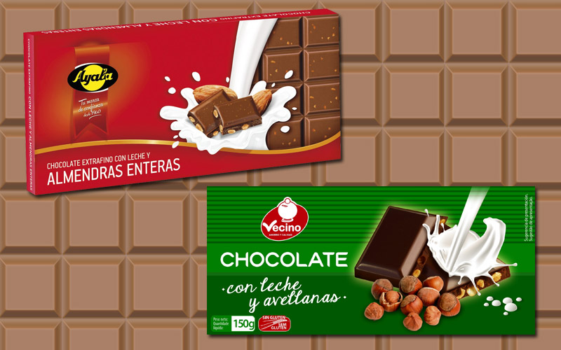 envueltas chocolate