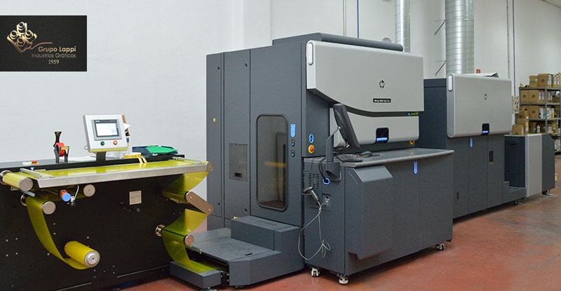 impresión digital etiquetas