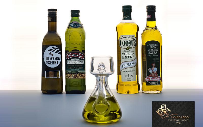 etiquetas sector aceite