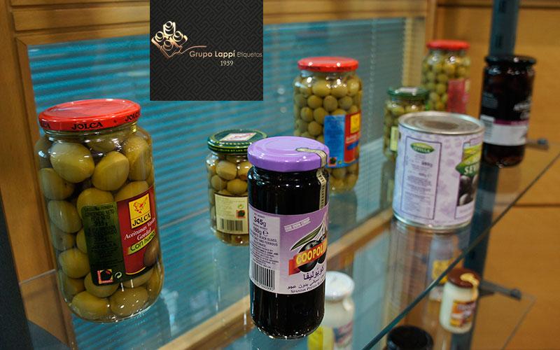etiquetas conservas vegetales