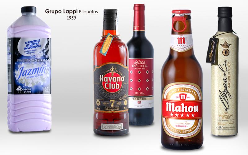 Grupo Lappí Etiquetas - sectores